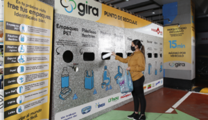 Proyecto de reciclaje en Ecuador